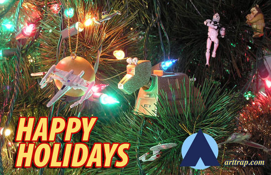 Wishing everyone Happy Holidays and may good fortune shine upon you.