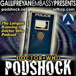"""Doctor Who: Podshock Cover Art """"NYC Style"""""""