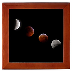 Winter Solstice Lunar Eclipse Framed Print